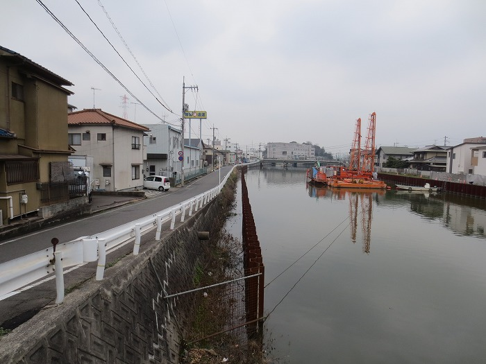 手城川広域基幹河川改修工事 写真