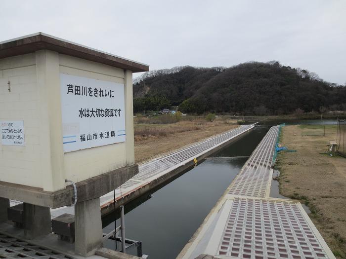 中津原浄水場取水施設 耐震補強工事 写真