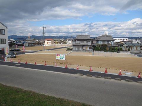 森脇東団地造成工事 写真